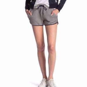 Splendid Fisherman Textured Knit Dolphin Shorts